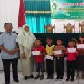 Bantuan Dana Bea Siswa (BDBS) Kepada Anak-Anak Dilingkungan Badan Peradilan Oleh Dharmayukti Karini Cabang Lampung Tengah